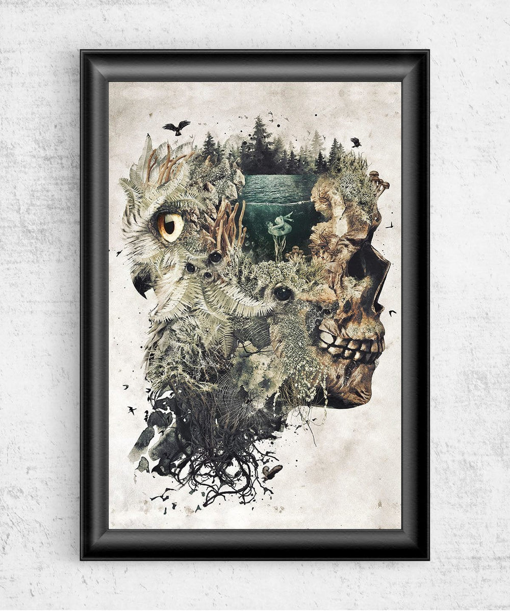 Forest Dream Posters by Barrett Biggers - Pixel Empire