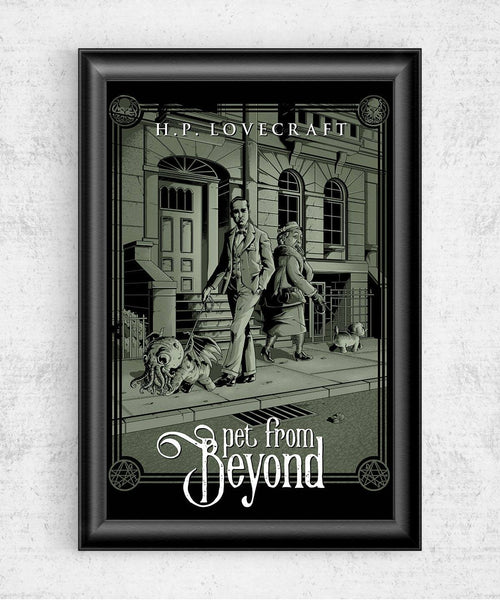 Pet From Beyond Posters by Saqman - Pixel Empire
