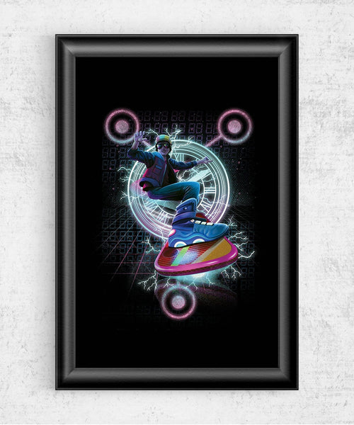 Hoverboard Takes Flight Posters by Dan Elijah Fajardo - Pixel Empire