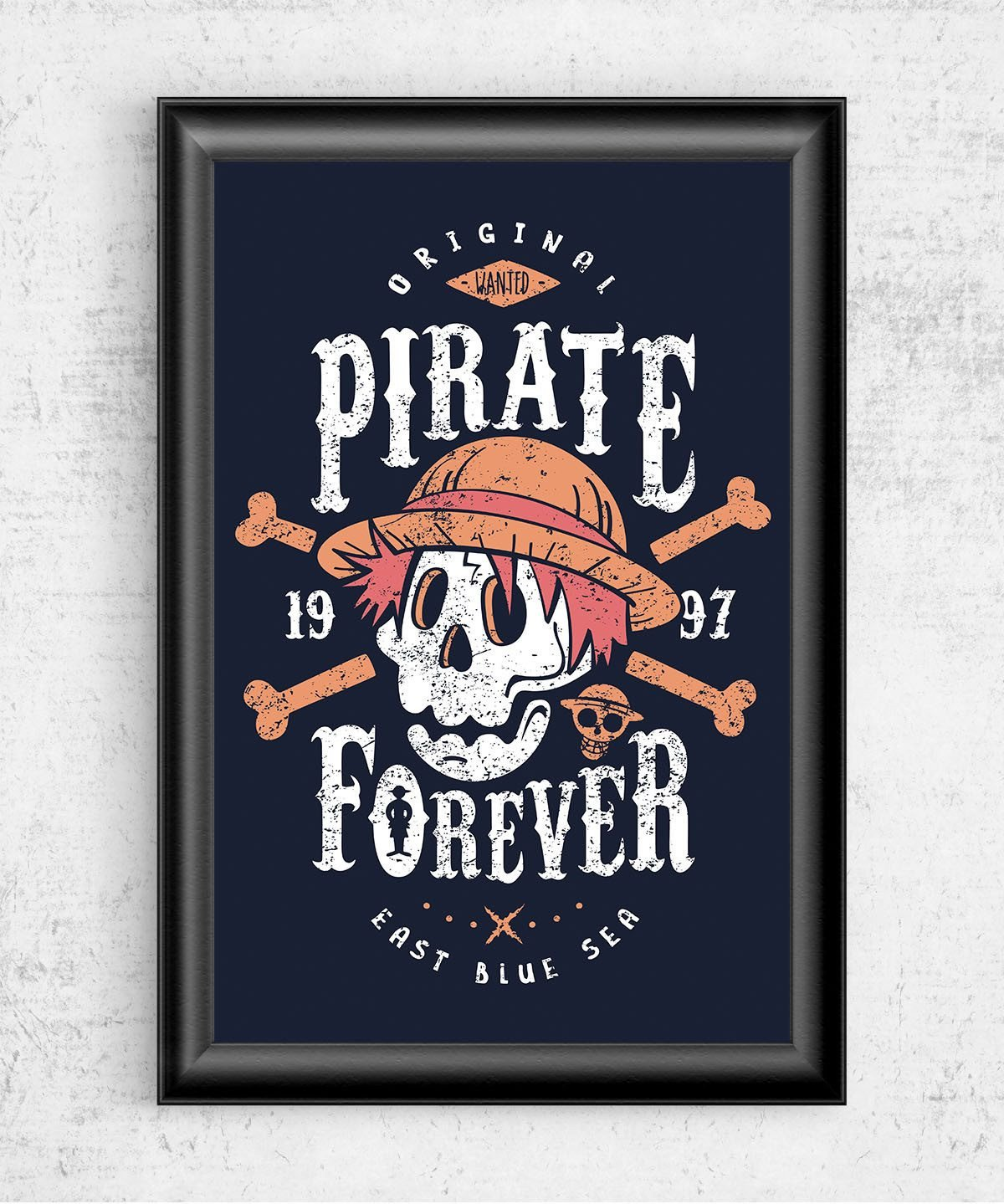 Wanted Pirate Forever Posters by Olipop - Pixel Empire