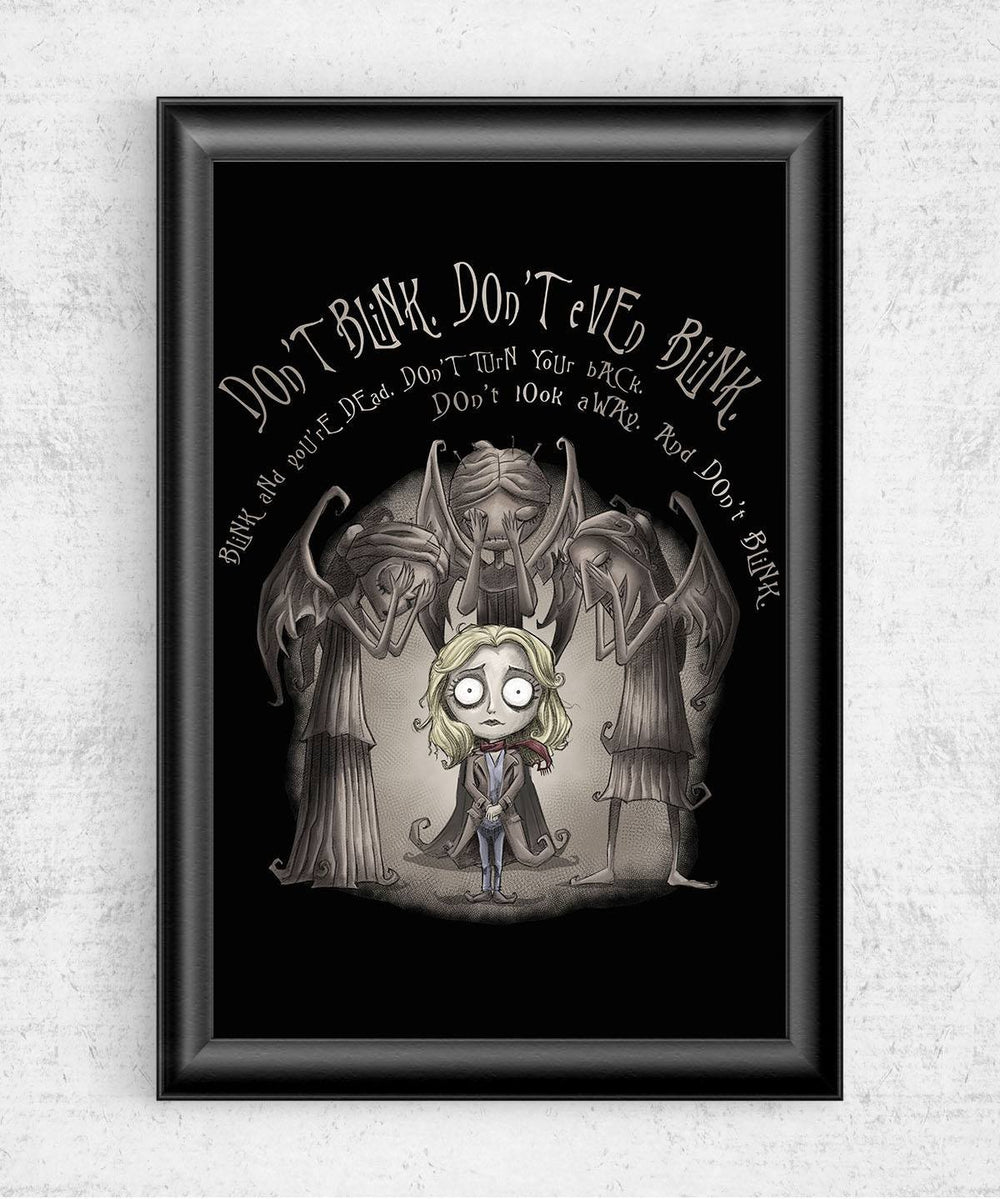 Don't Blink Posters by Saqman - Pixel Empire