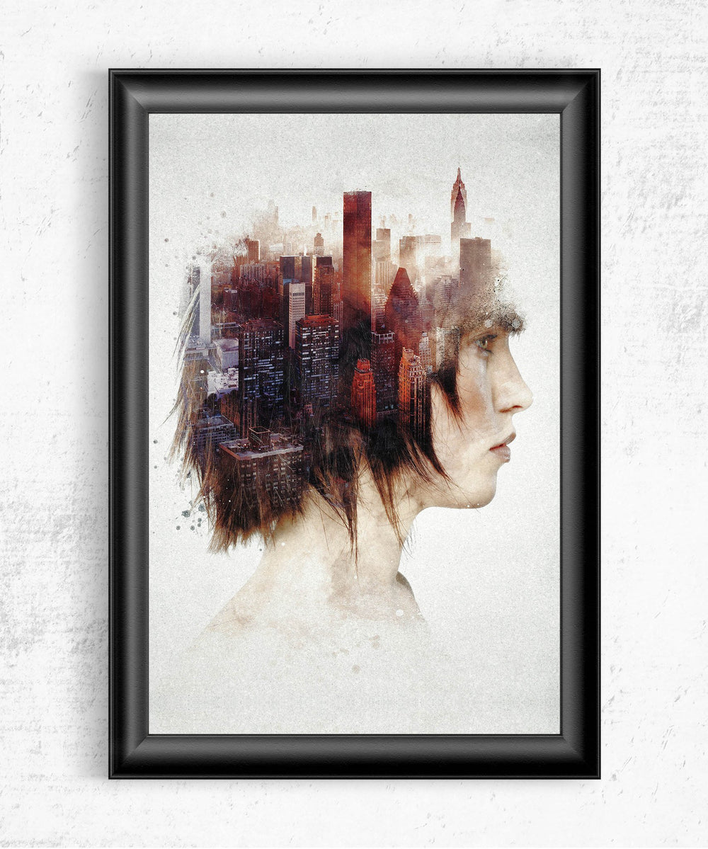 Urban Thoughts Posters by Barrett Biggers - Pixel Empire