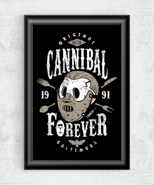 Cannibal Forever Posters by Olipop - Pixel Empire