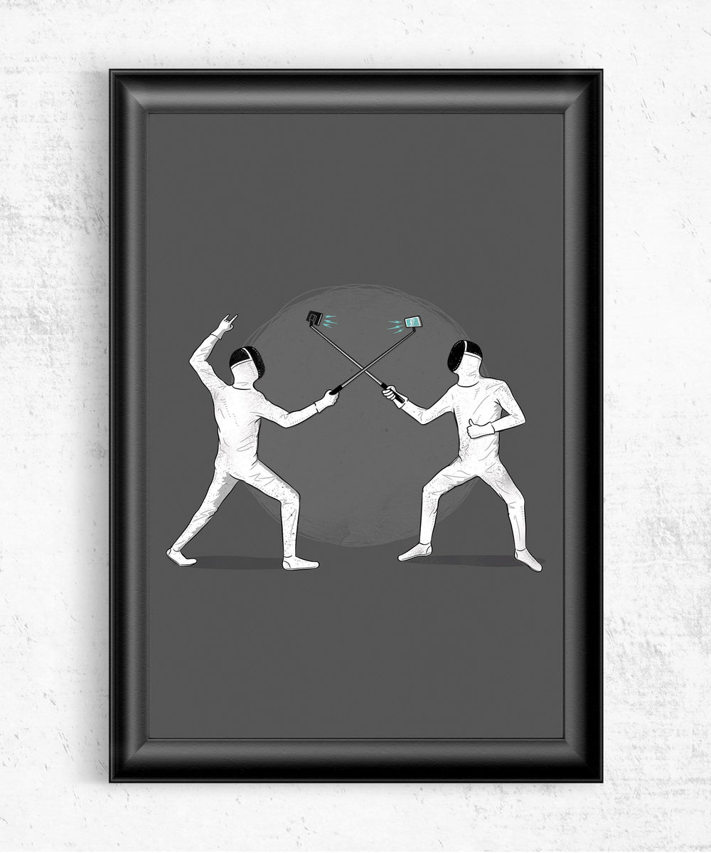 Battle of the Egos Posters by Grant Shepley - Pixel Empire