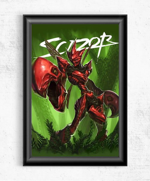 Scizor Posters- The Pixel Empire