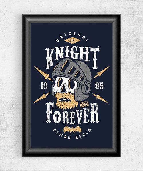 Knight Forever Posters by Olipop - Pixel Empire