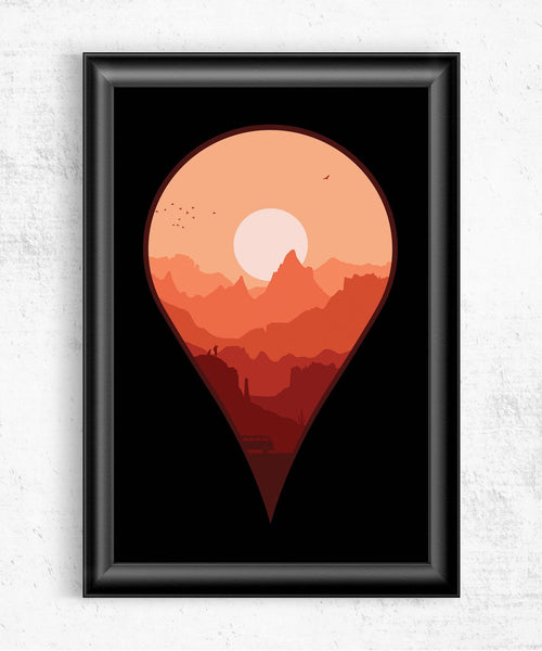 Destination Unknown Posters- The Pixel Empire