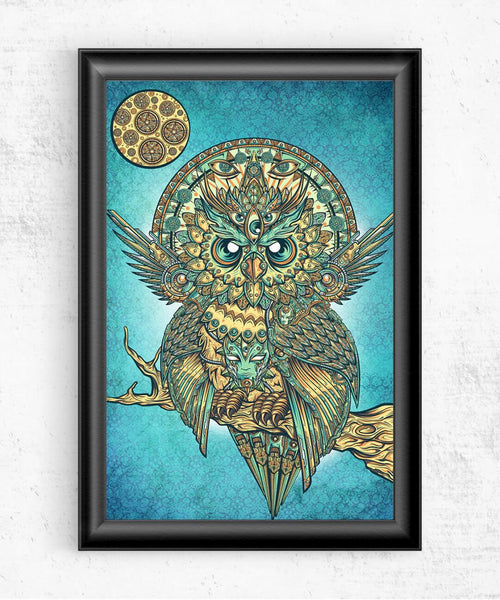 Owl of Dreams Posters by Juan Manuel Orozco - Pixel Empire