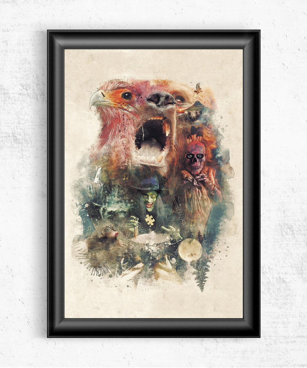 Banjo Kazooie Posters by Barrett Biggers - Pixel Empire