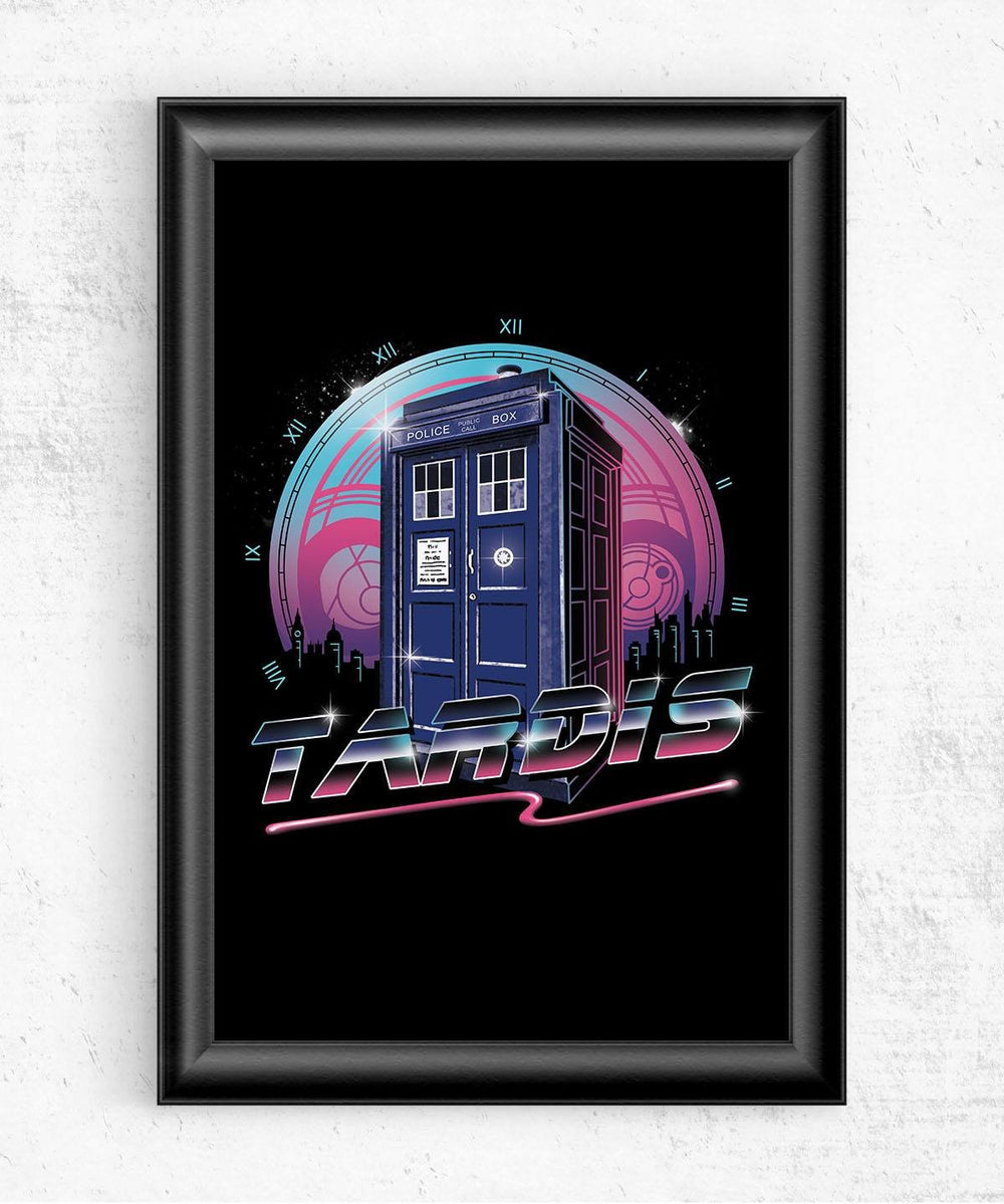 Rad Tardis Posters by Vincent Trinidad - Pixel Empire