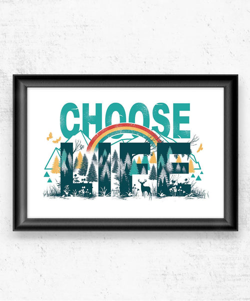 Choose Life Posters by Vincent Trinidad - Pixel Empire
