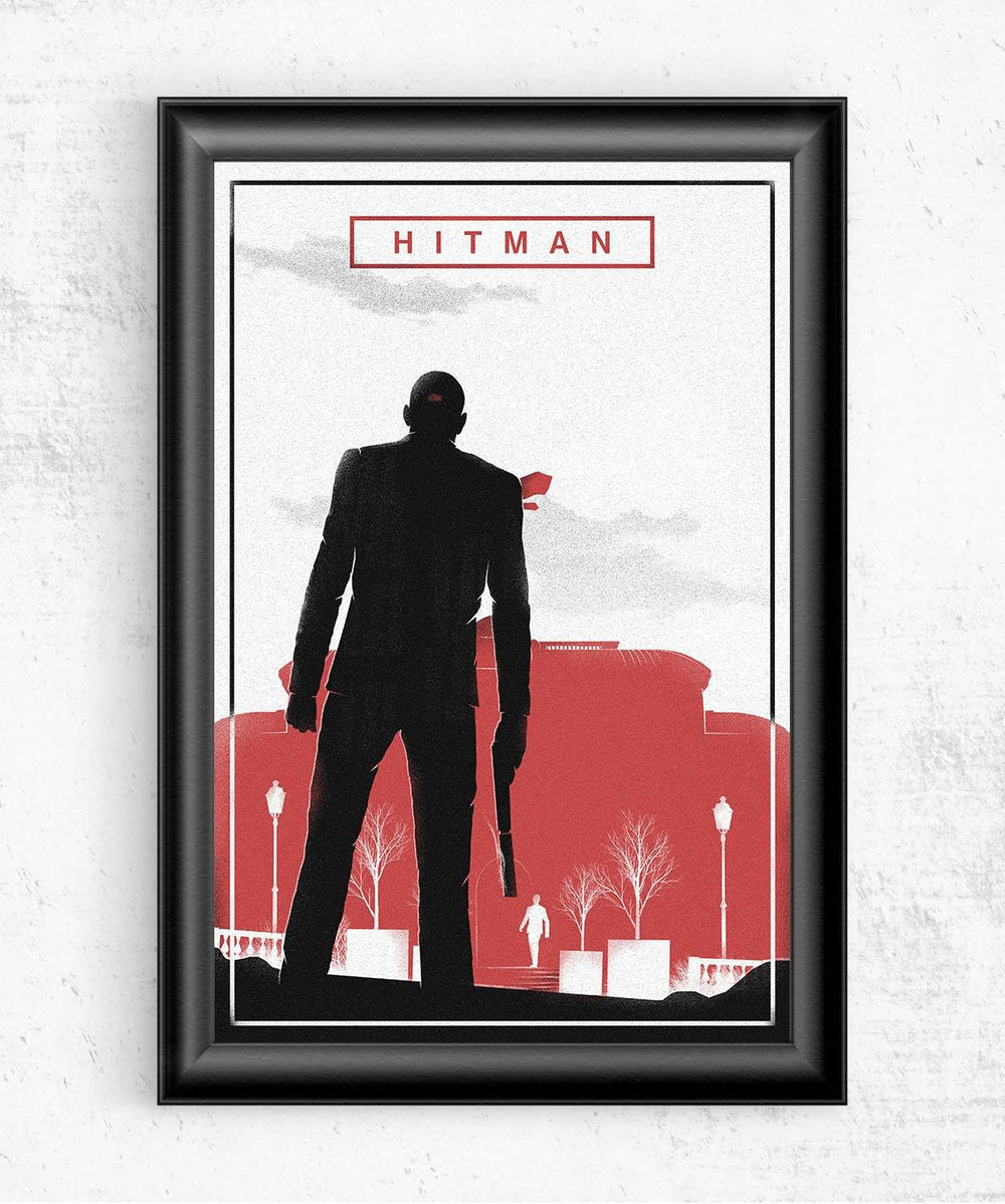 Hitman Posters by Felix Tindall - Pixel Empire
