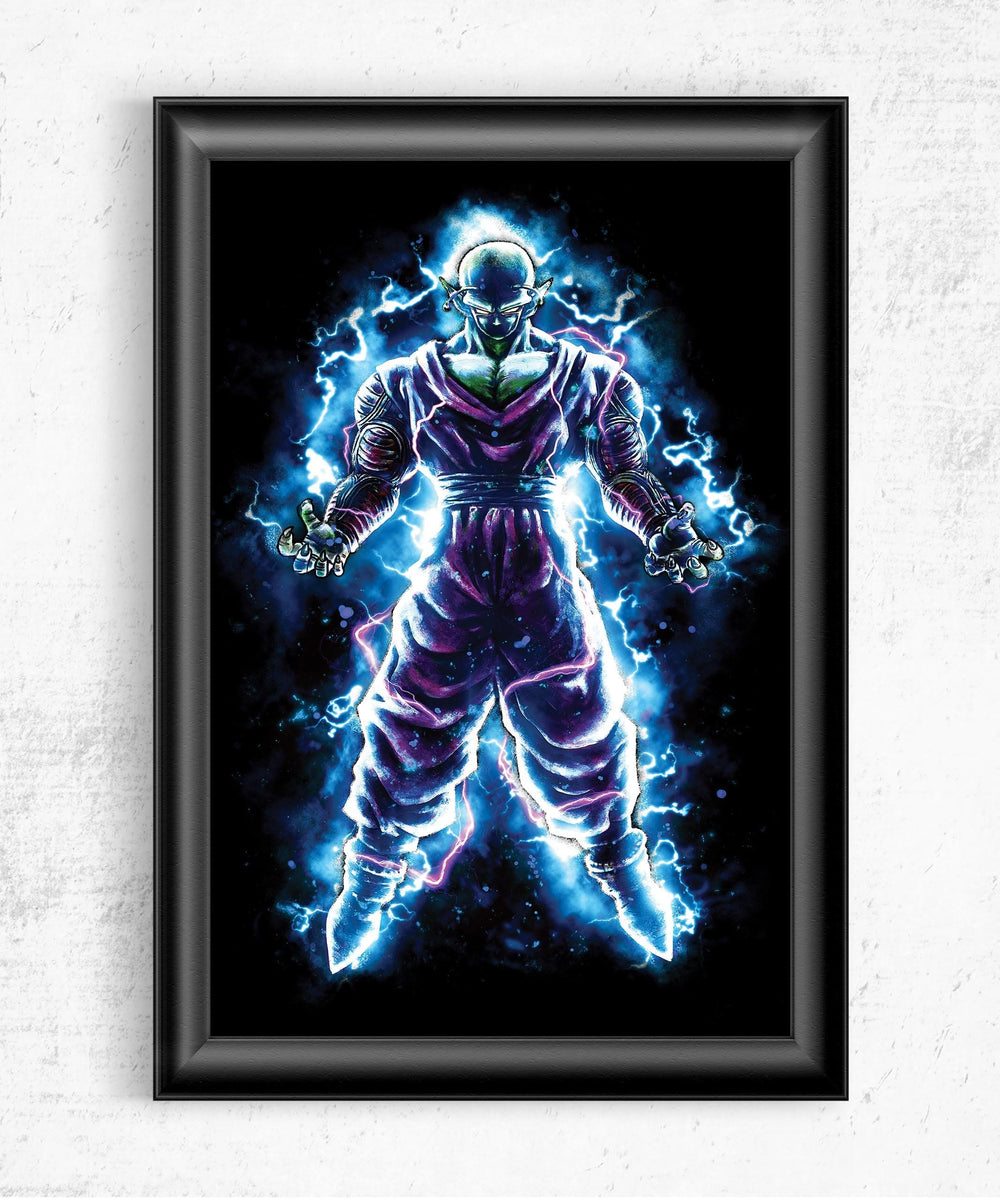 Piccolo Posters by Barrett Biggers - Pixel Empire