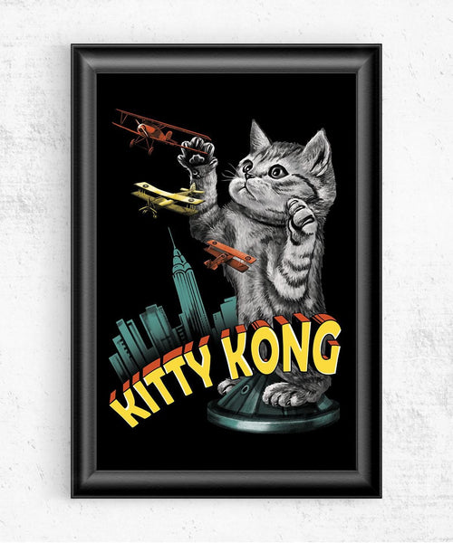 Kitty Kong Posters by Vincent Trinidad - Pixel Empire