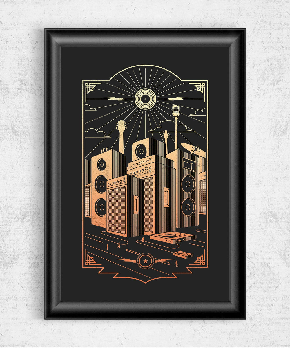 Sound City Posters by Grant Shepley - Pixel Empire