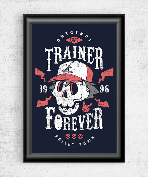 Trainer Forever Posters by Olipop - Pixel Empire