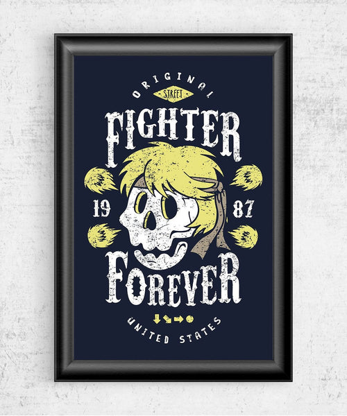 Fighter Ken Forever Posters by Olipop - Pixel Empire