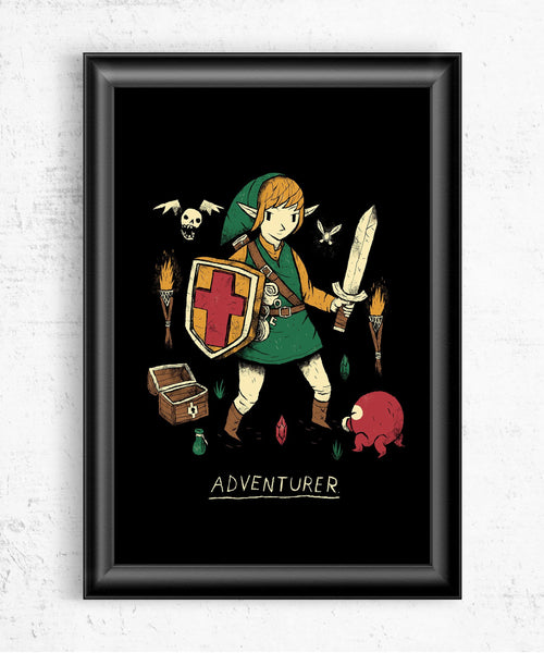 Adventurer Posters by Louis Roskosch - Pixel Empire