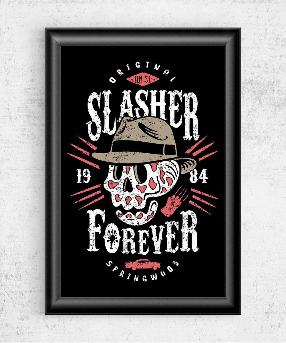 Slasher Forever Posters by Olipop - Pixel Empire
