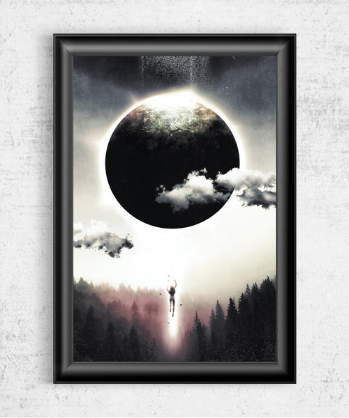 Dreams of Gravity Posters by Barrett Biggers - Pixel Empire