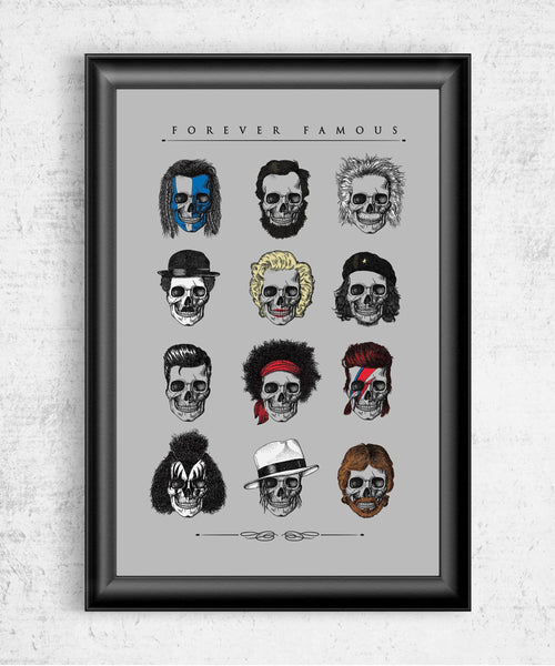 Forever Famous Posters by Grant Shepley - Pixel Empire