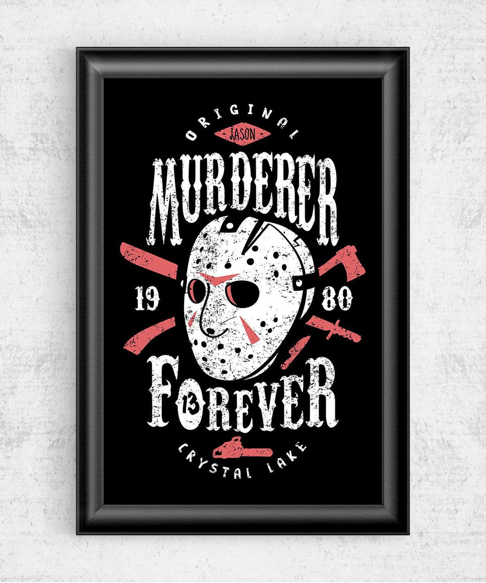Murderer Forever Posters by Olipop - Pixel Empire