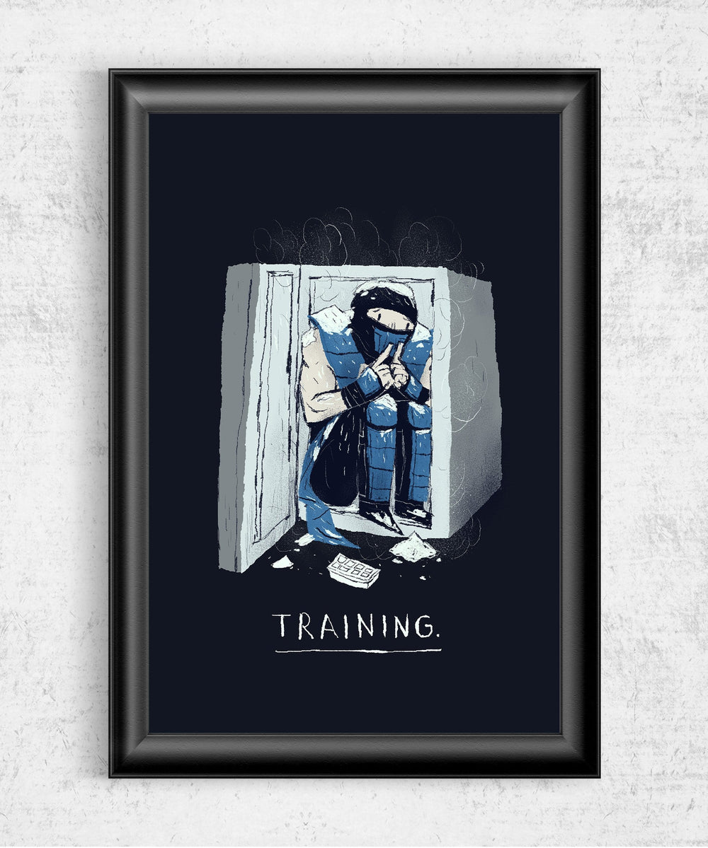 Training Posters by Louis Roskosch - Pixel Empire