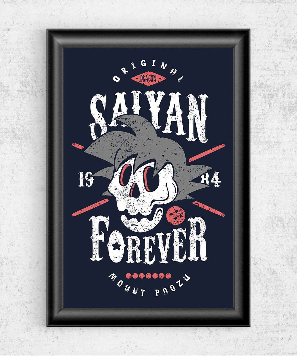 Saiyan Forever Posters by Olipop - Pixel Empire