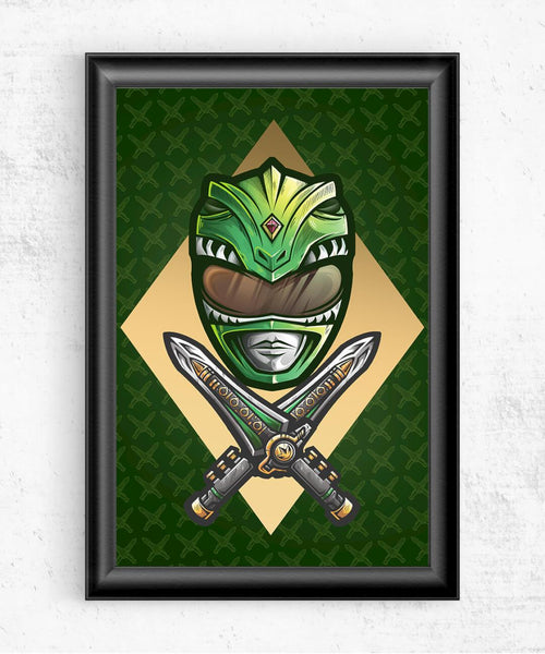 Green Ranger Posters by Juan Manuel Orozco - Pixel Empire