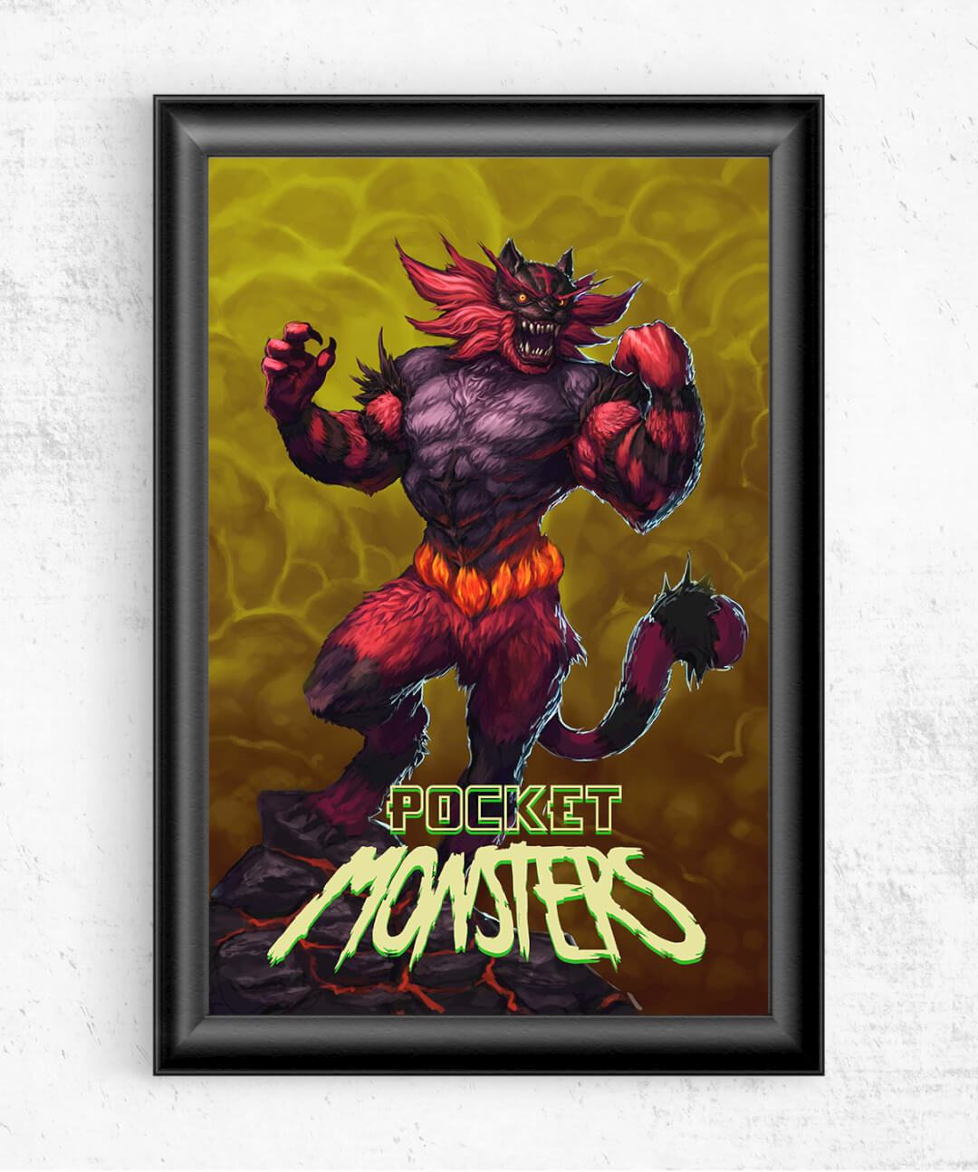 Incineroar Posters by An-Atomic - Pixel Empire