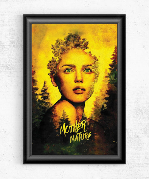 Mother Nature Posters by Barrett Biggers - Pixel Empire