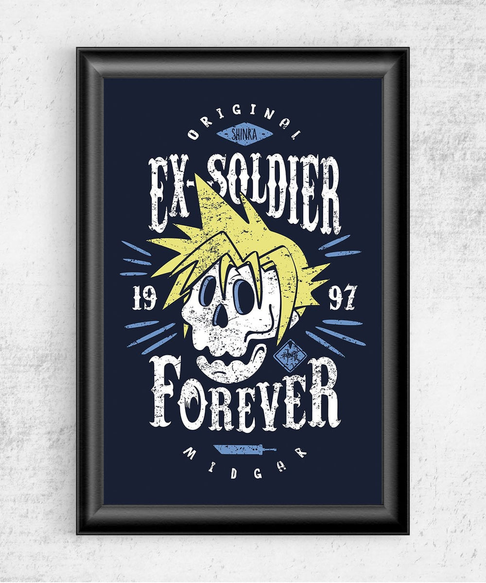Ex-Soldier Forever Posters by Olipop - Pixel Empire