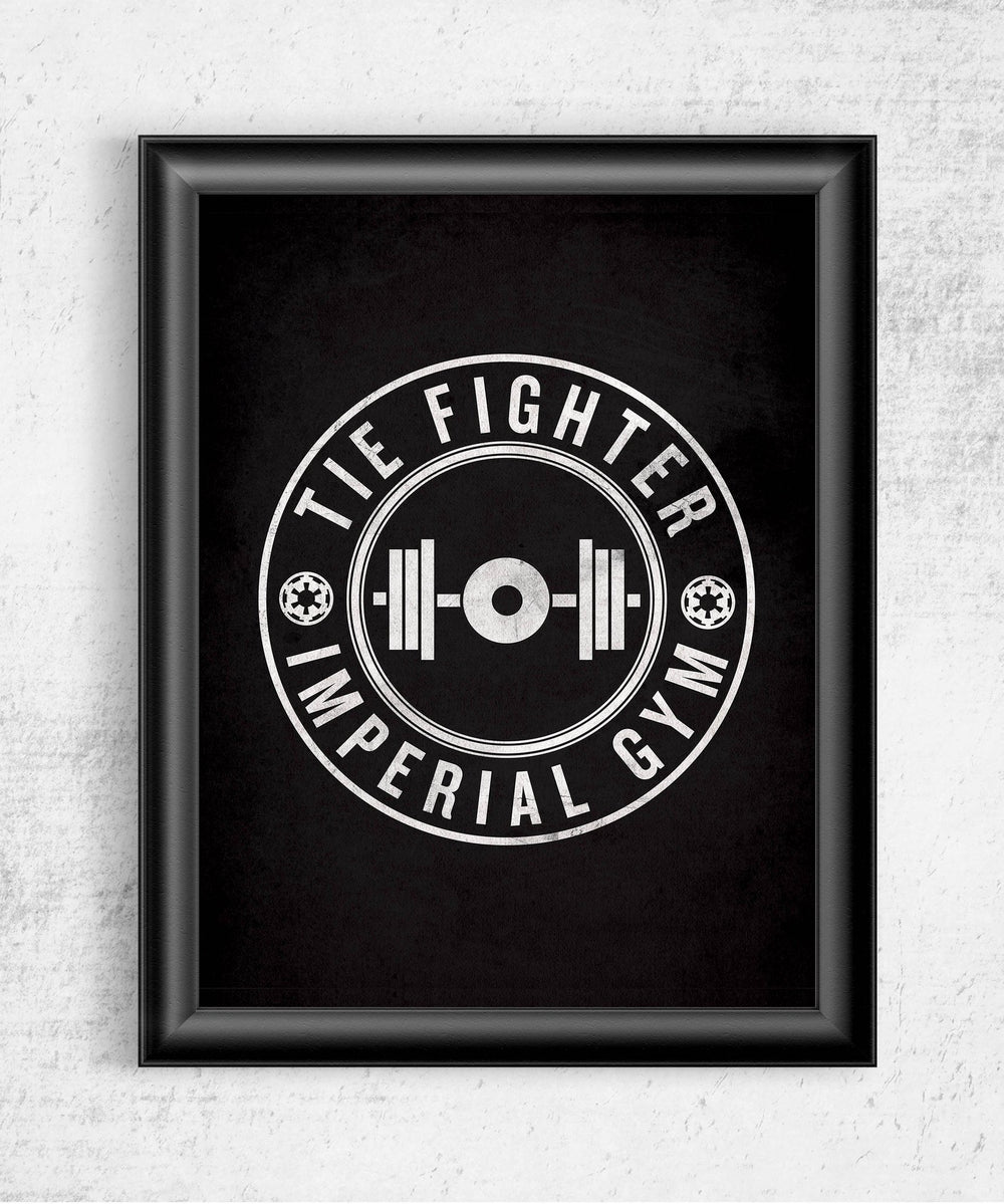 Imperial Gym Posters by Edge Fitness - Pixel Empire