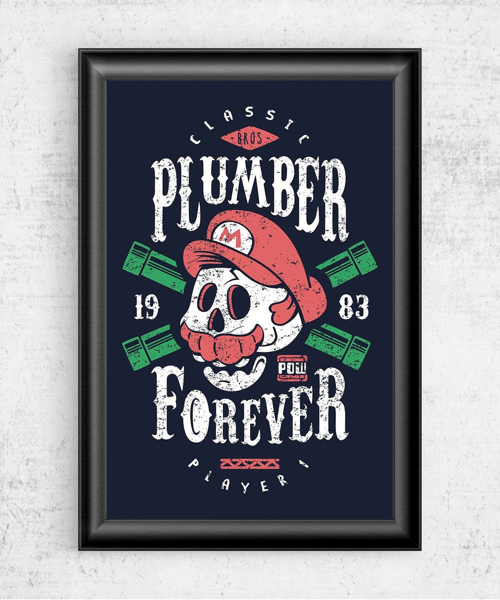Plumber Forever Posters by Olipop - Pixel Empire