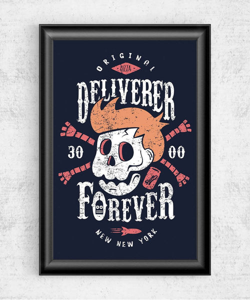 Deliverer Forever Posters by Olipop - Pixel Empire