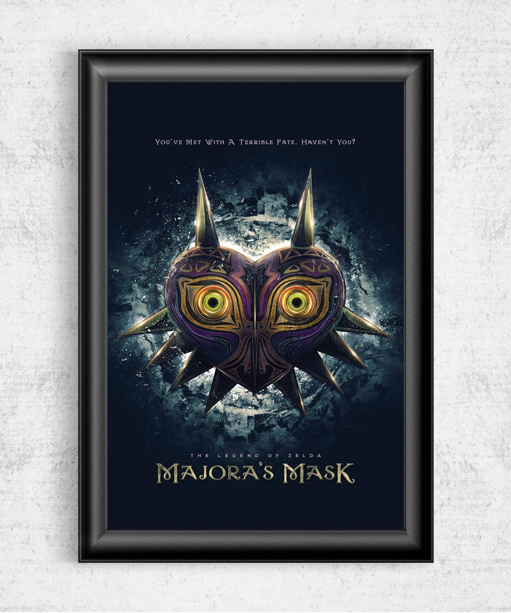 Majora's Mask Posters by Barrett Biggers - Pixel Empire
