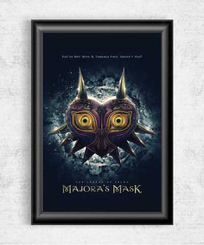 Majora's Mask Posters- The Pixel Empire