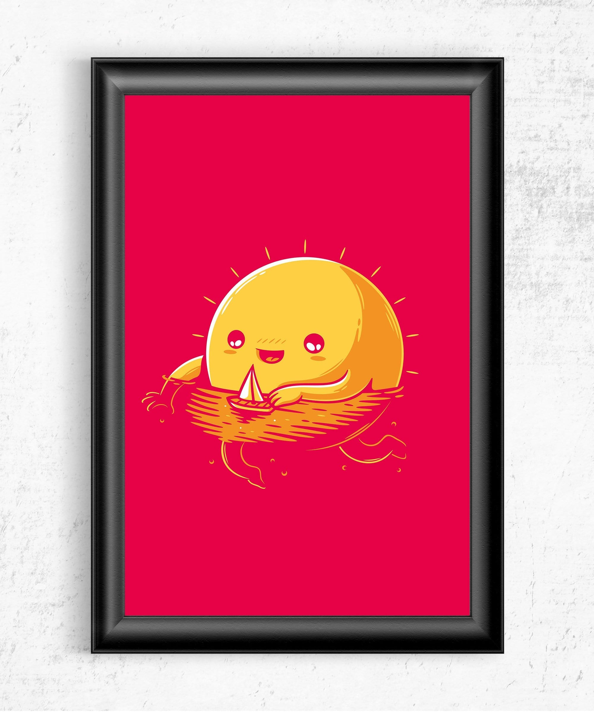 A Summer Mood Posters by Elia Colombo - Pixel Empire