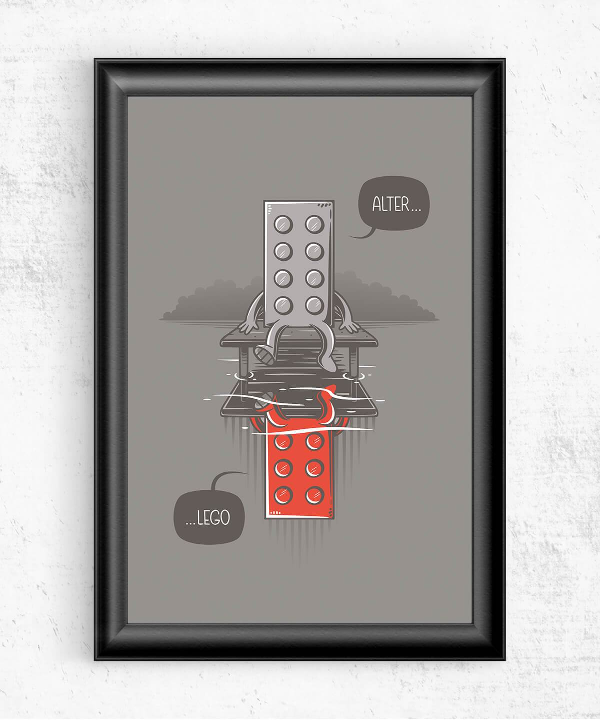Alter LEGO Posters by Elia Colombo - Pixel Empire