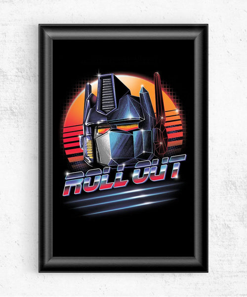 Roll Out Posters by Vincent Trinidad - Pixel Empire