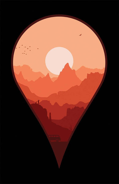 Destination Unknown Canvas by Grant Shepley - Pixel Empire
