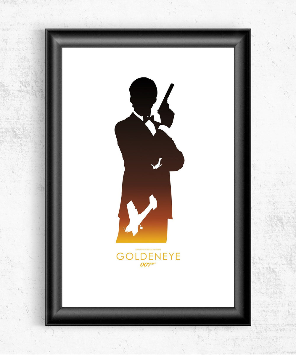 GoldenEye Posters by Dylan West - Pixel Empire