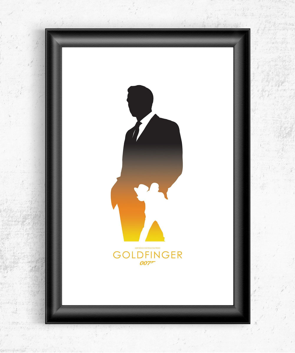 Goldfinger Posters by Dylan West - Pixel Empire