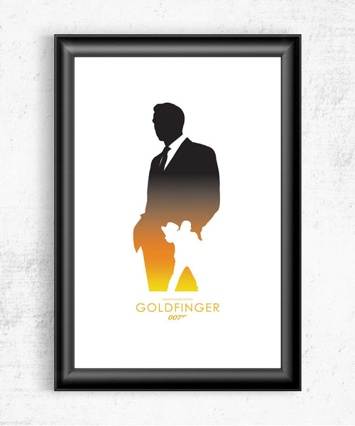 Goldfinger Posters- The Pixel Empire