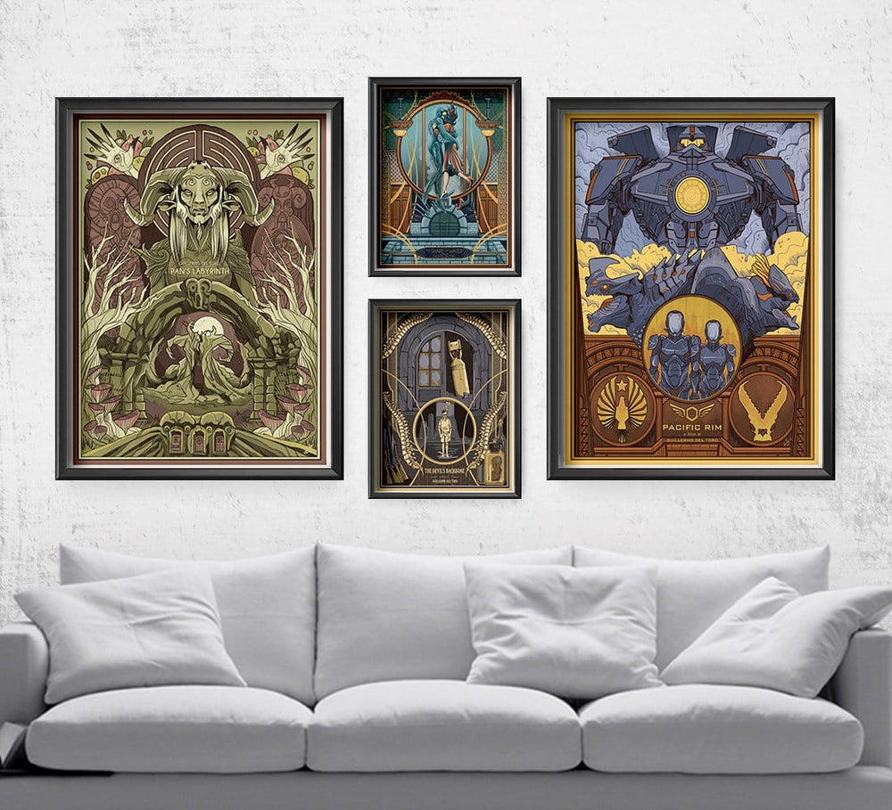 Guillermo del Toro Film Set Posters by Beverly Arce - Pixel Empire
