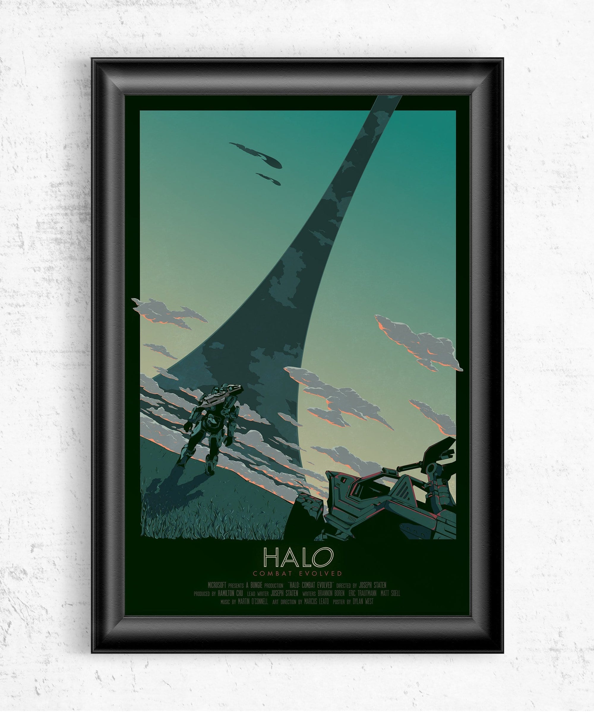Halo: Combat Evolved Movie Poster Posters by Dylan West - Pixel Empire