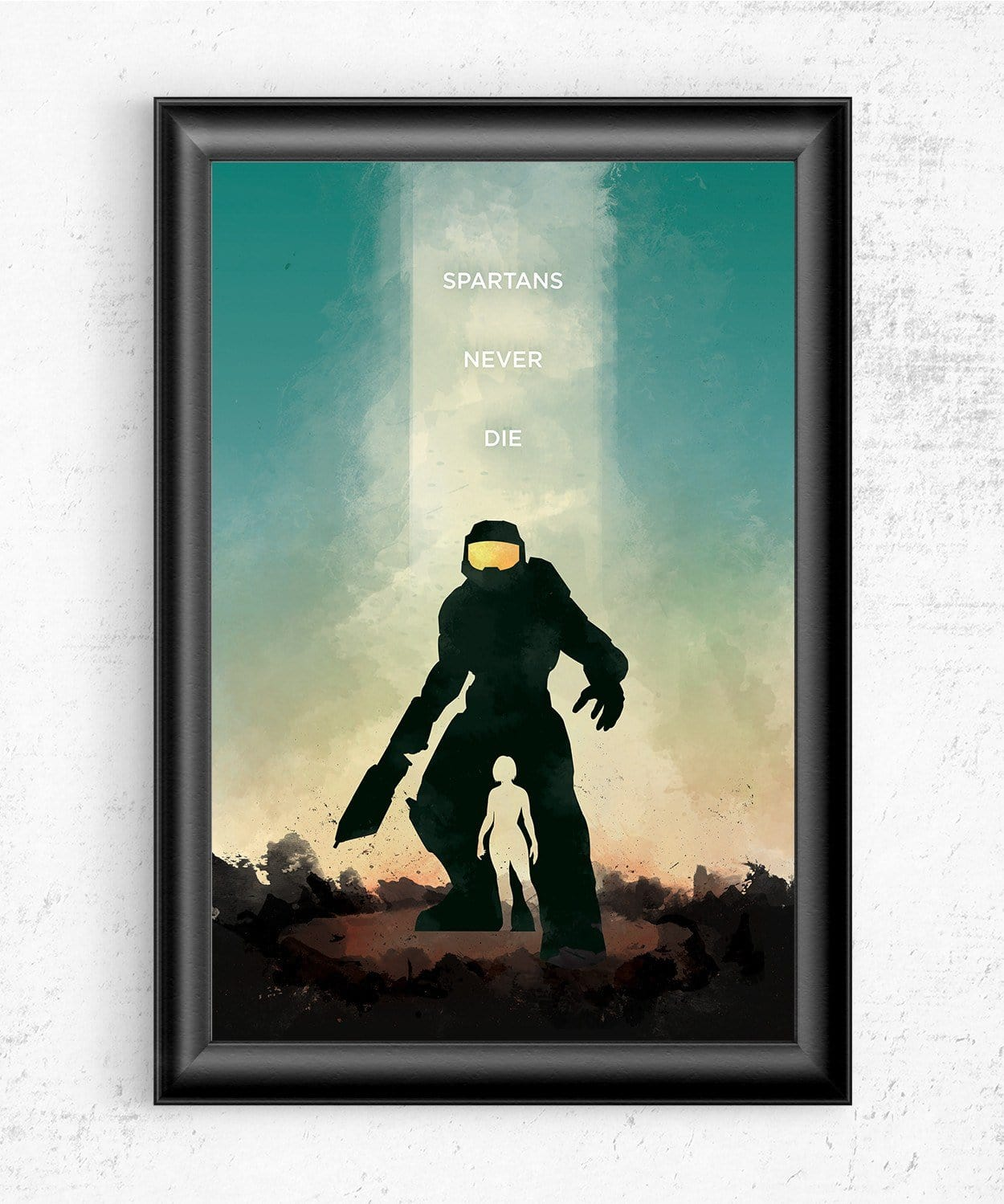 Halo - Spartans Never Die Posters by Dylan West - Pixel Empire