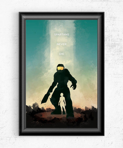 Halo - Spartans Never Die Posters- The Pixel Empire