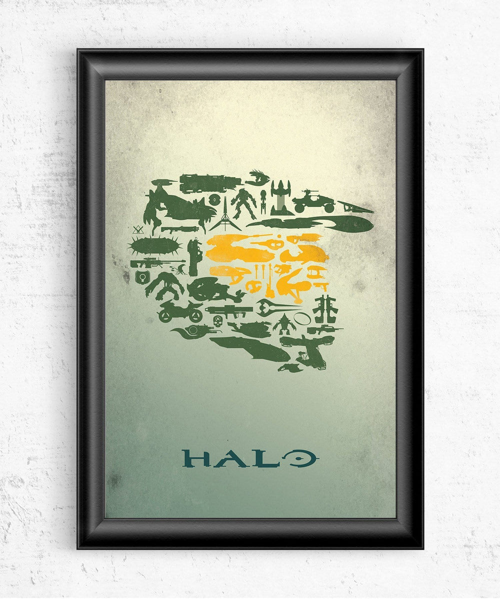 Halo Collage Posters by Dylan West - Pixel Empire