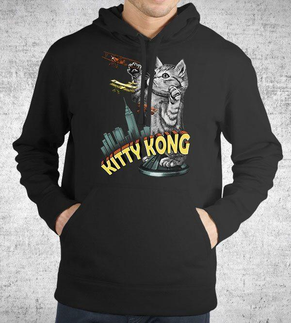 Kitty Kong Hoodies by Vincent Trinidad - Pixel Empire
